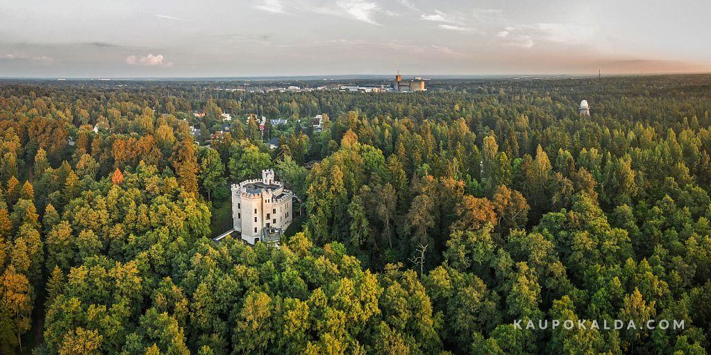 Õhtune Glehni loss ja tähetorn