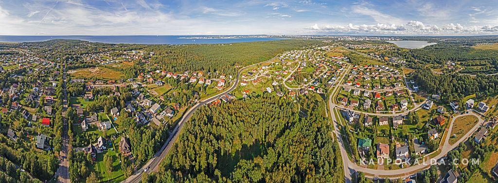 Kakumäe-Vismeistri-Pikaliiva-Harku panoraam