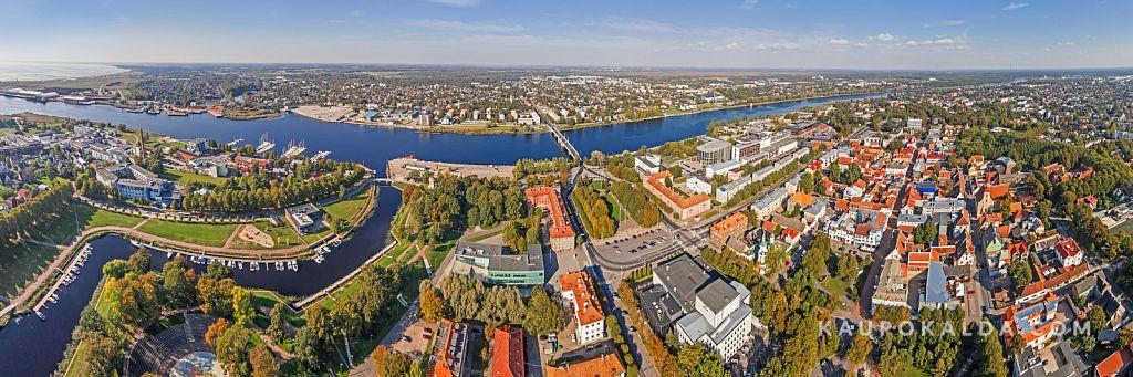 Pärnu jõgi, sadamaala ja vanalinn