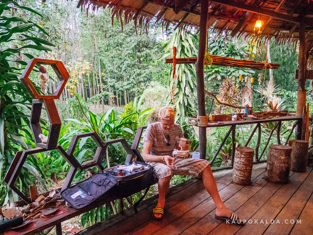 Jungle View Bungalows - droonimees ajab lennumasinat kurjaks