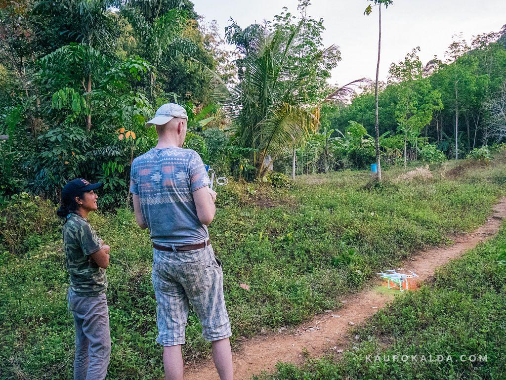 Jungle View Bungalows - perenaisega droonitamas