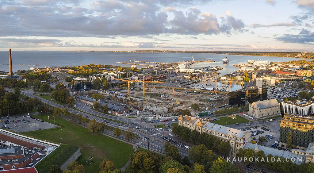 Aerofotod Eestimaa ehitustelt