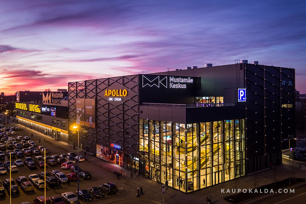 Mustamäe Keskus / Apollo kino