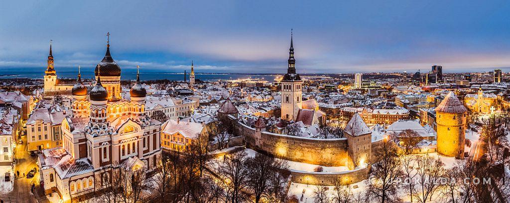 Talvine Tallinna vanalinn