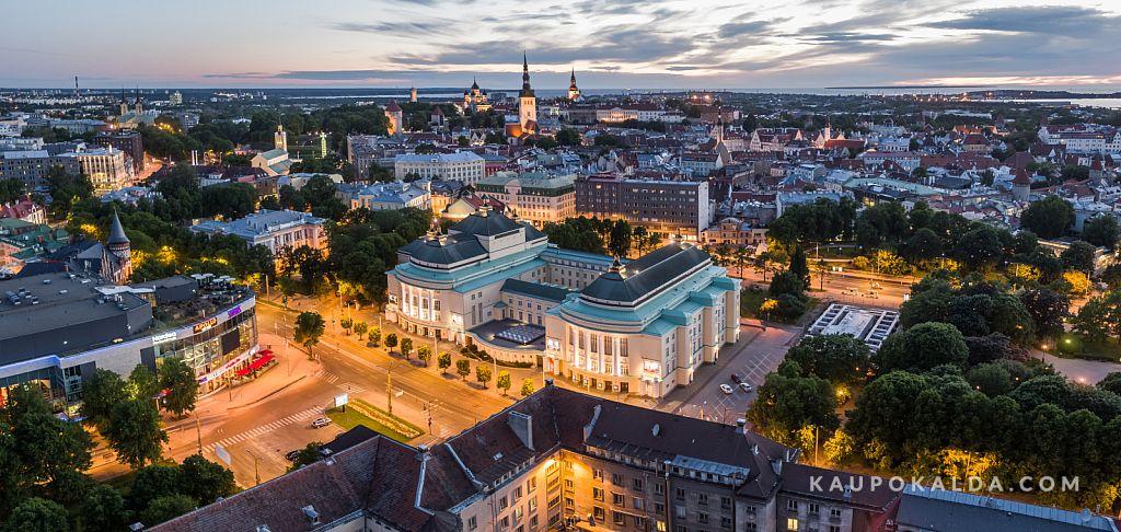 Solaris, Estonia, vanalinn üheskoos