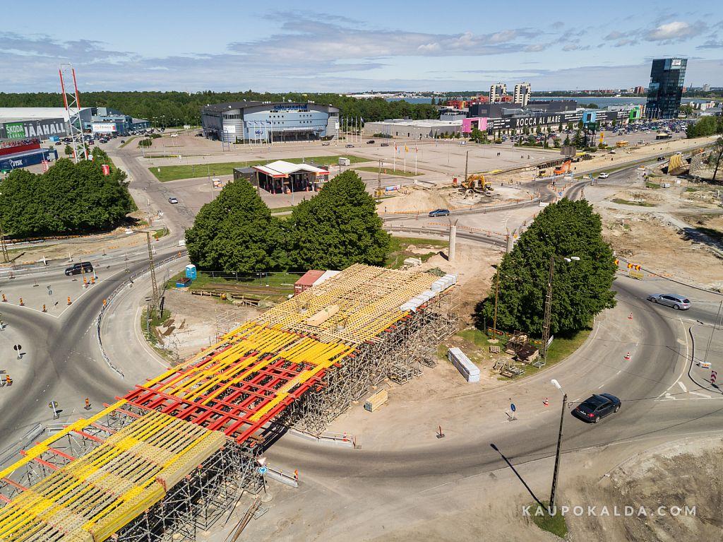 Haabersti megaristmiku ehitus, 23. juuni 2017