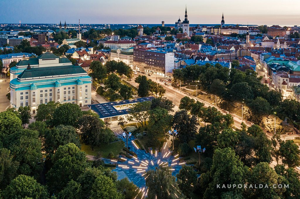 Tammsaare park linnaruumis