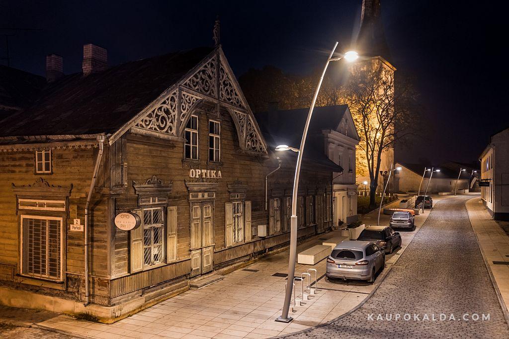 Rekonstrueeritud Rakvere Pikk tänav