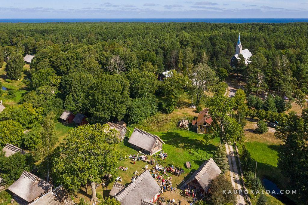 Liise talu Ruhnu saarel